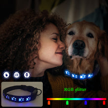 Load image into Gallery viewer, RGB Dog Collar