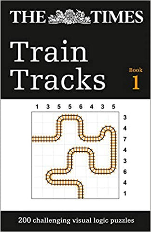 The Times Train Tracks Book 1: 200 challenging visual logic puzzles