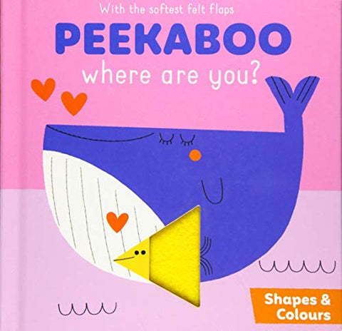 Peekaboo, Where are you? Colours & Shapes