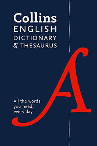 English Dictionary and Thesaurus Essential: All the words you need, every day (Collins Essential) (Collins Essential Dictionaries)