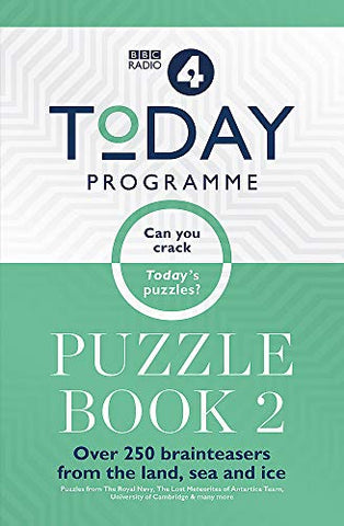 Today Programme Puzzle Book 2: The puzzle book of 2019