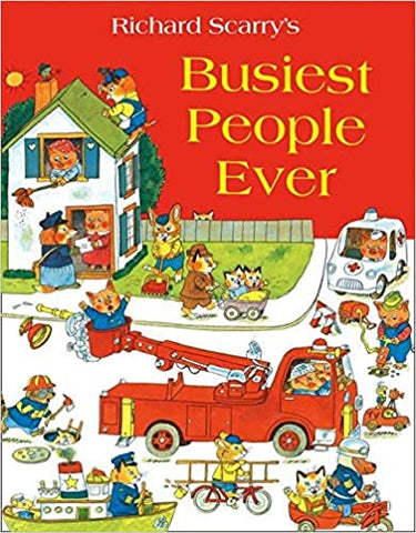 Richard Scarry's Busiest People Ever -  Picture Book