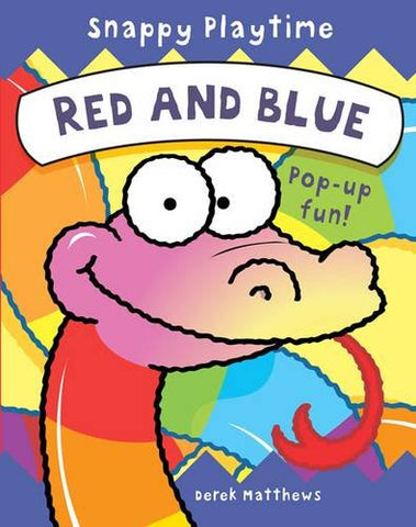 Snappy Playtime Red & Blue