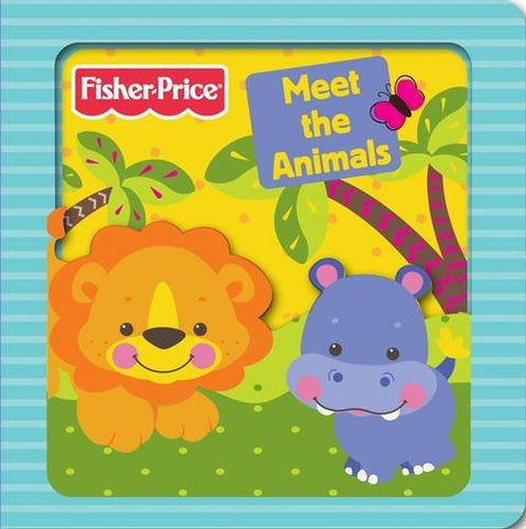 Fisher-Price Meet the Animals (3D Board Books)