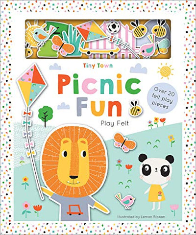 Tiny Town Picnic Fun (Tiny Town Soft Felt Play Books)