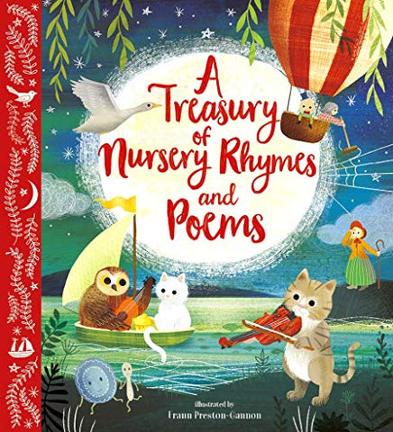 A Treasury of Nursery Rhymes and Poems: Illustrated Gift Edition (Nosy Crow Classics)