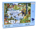 The House of Puzzles Big 250 Piece Jigsaw Puzzle – Sparkling Waters