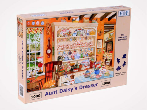 "The House of Puzzles 1000 Piece Jigsaw Puzzle - Aunt Daisy's Dresser - ""NEW SEPTEMBER 2020"""