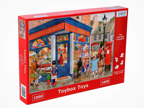"The House of Puzzles 1000 Piece Jigsaw Puzzle - Toybox Toys - ""NEW SEPTEMBER 2020"""