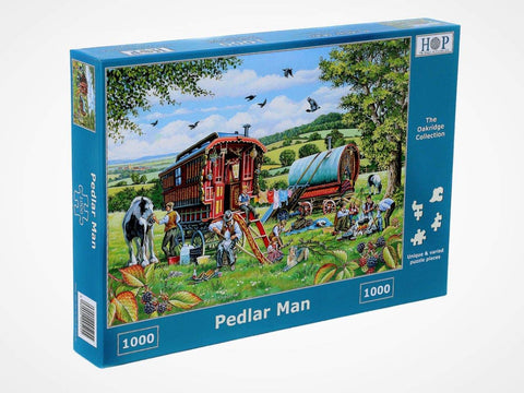 "The House of Puzzles 1000 Piece Jigsaw Puzzle - Pedlar Man - ""NEW SEPTEMBER 2020"""