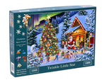 "The House of Puzzles 1000 Piece Jigsaw Puzzle - Christmas No.15 - Twinkle Little Star - ""NEW SEPTEMBER 2020"""