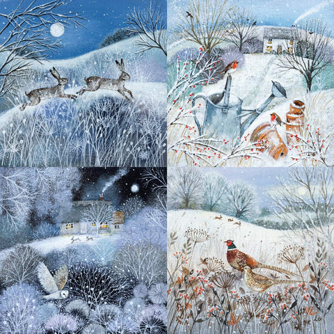 Museums & Galleries Charity Christmas Cards - Pack of 20 - Deep Midwinter