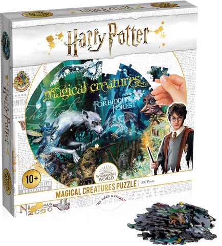 Winning Moves Harry Potter-Magical Creatures 500pc