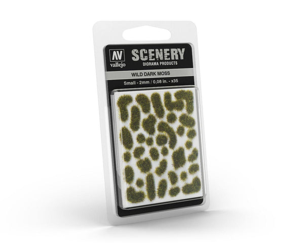 Vallejo Scenery SC402 2mm Wild Dark Moss - Gap Games