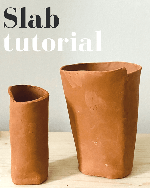 How to Make a Slab Cup with our Air-dry Clay Kit