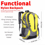 Lightweight Hiking Backpack - Black