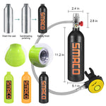 Buy the Mini Personal Scuba Tank Without Adapter - Explore Land N Sea