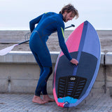 Buy the 3 Pieces of Blue Surfboard Traction Pad - Explore Land N Sea