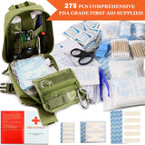 Buy the Army Green Basic Survival First Aid Kit - Explore Land N Sea