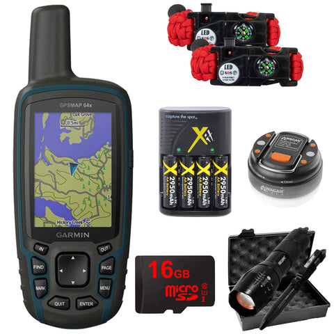 Black Colored Handheld GPS Navigator Units