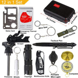 Buy the 12-in-1 Emergency Survival Kit for Sale - Explore Land N Sea
