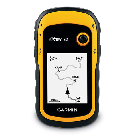 Black Yellow Top Rated Handheld GPS Units