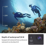 Buy the Best Budget 4k Underwater Action Camera - Explore Land N Sea