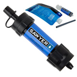 Buy the Dark Blue Best Rated Water Filter Straw - Explore Land N Sea