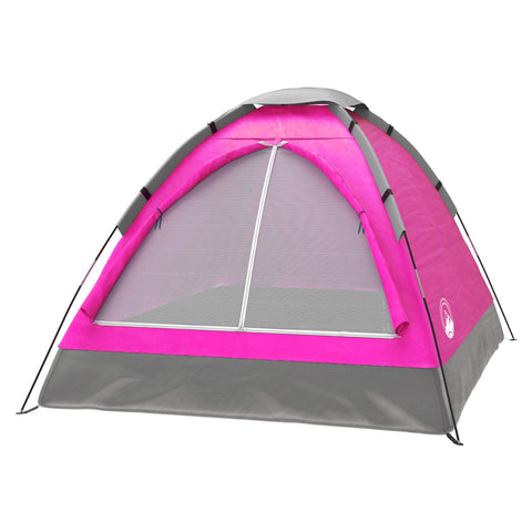 Buy the Pink Colored Dome 2 Person Tent - Explore Land N Sea