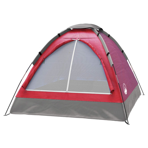 Buy the Red Colored 2 Person Dome Tent
