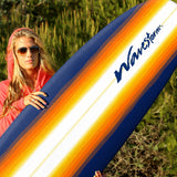 The 8ft Sunburst Graphic Best Soft Top Surfboard - Explore Land N Sea