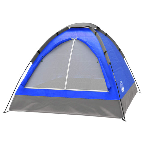 Buy the Blue Colored 2 Person Camping Tent - Explore Land N Sea