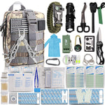Buy the 302 Pieces Basic Emergency Survival Kit - Explore Land N Sea