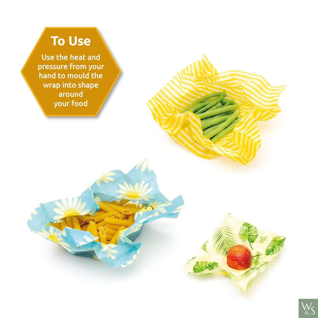 How to use a beeswax food wrap