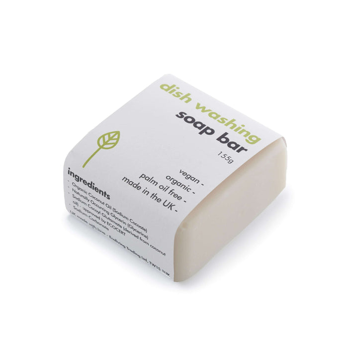 Eco Living Washing-Up Soap Bar Washing-Up Soap Bar laid down