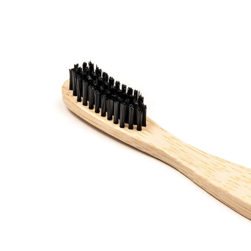 Wild & Stone Toothbrush Adults Bamboo Toothbrush - Medium Firm Bristles close up