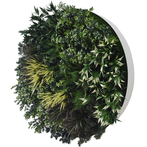 artificial plant feature wall