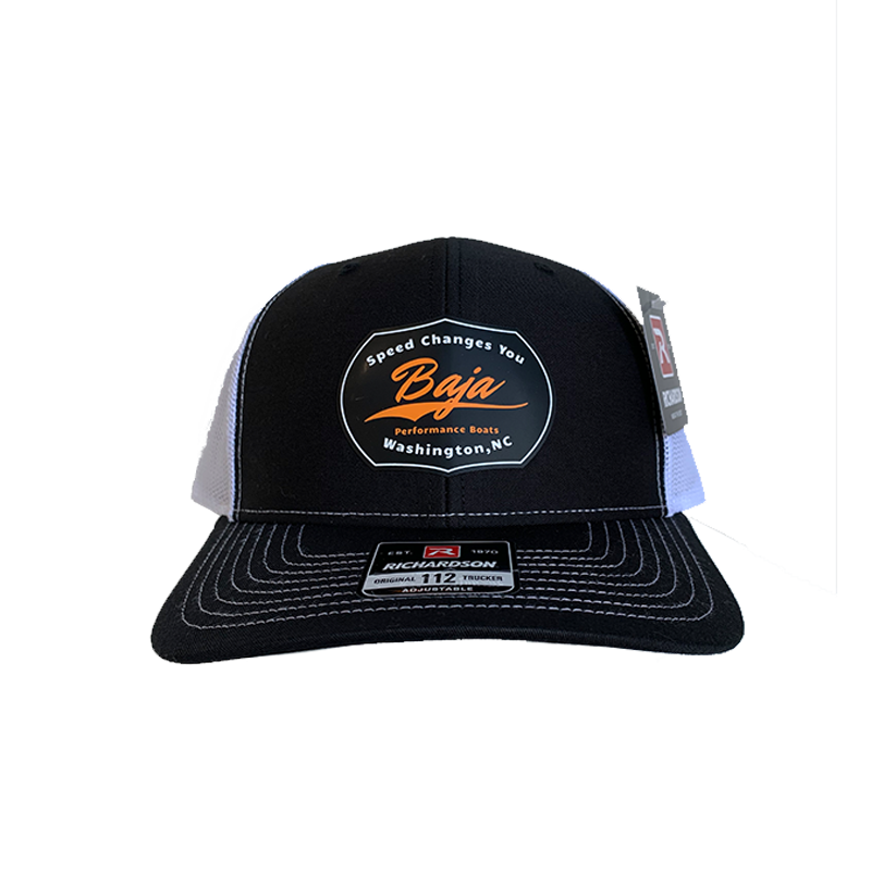 Baja Patch Hat Split Black