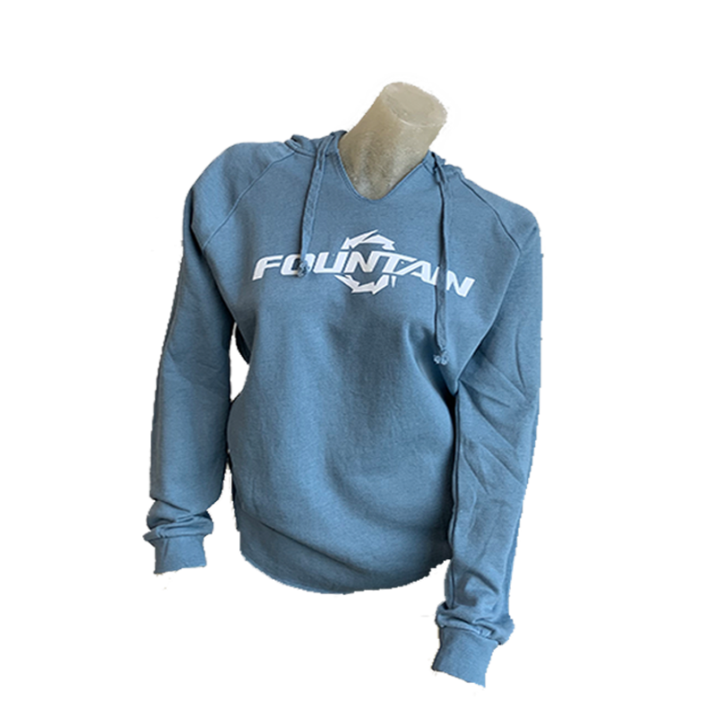 Fountain Boats Womens Wave Hoodie