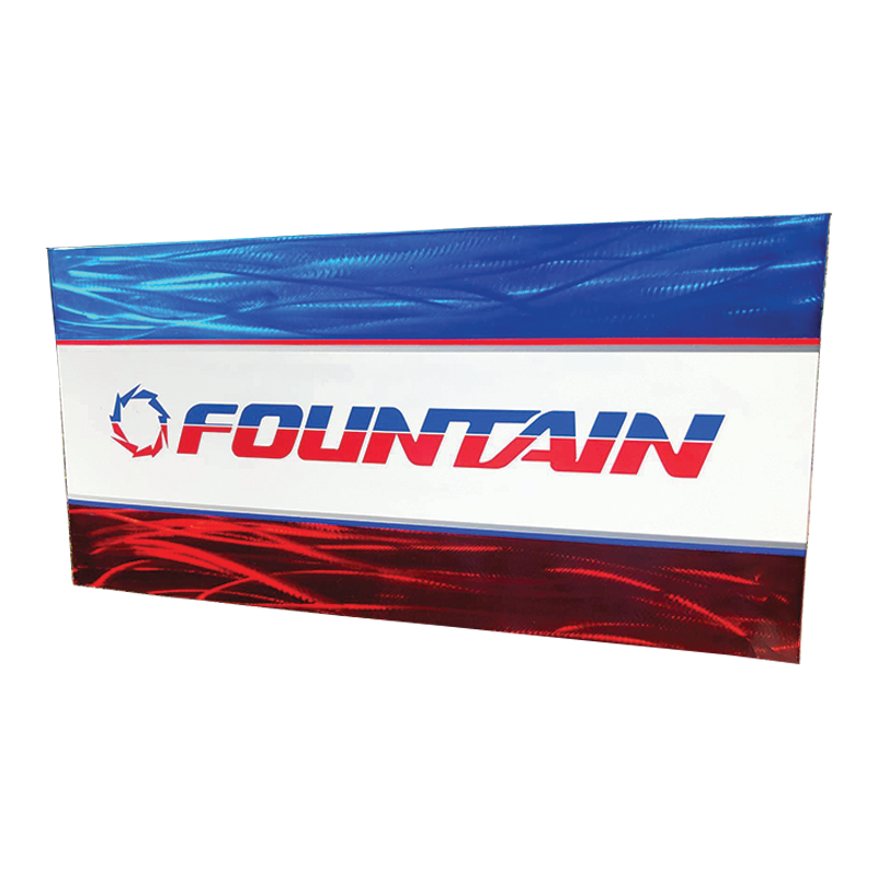 Custom Fountain Powerboats Signs