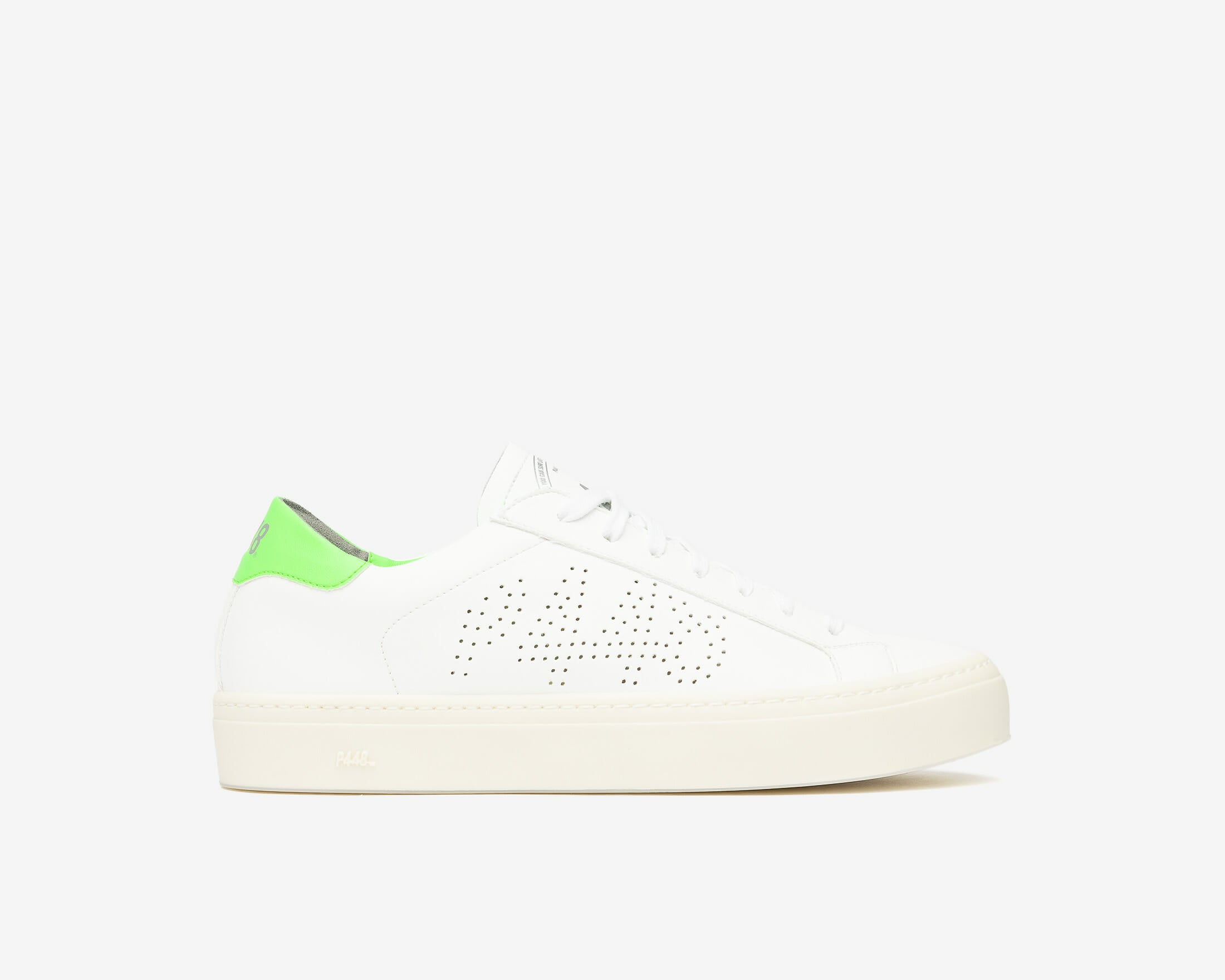 JohnL Vegan White Green