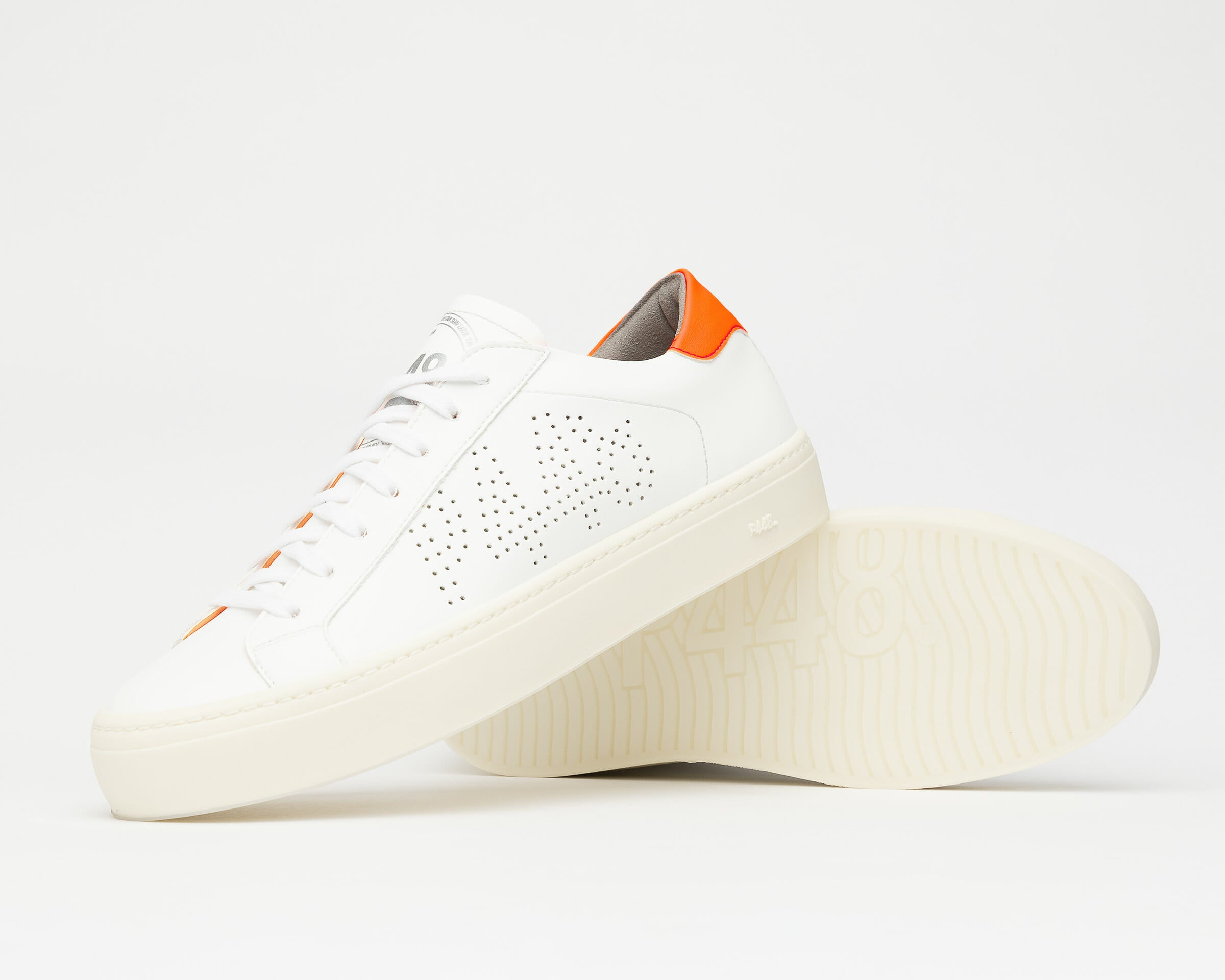 JohnL Vegan White Orange