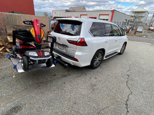 Heavy Duty Universal Power Chair Lift For Lexus 570 Just Installed Harmar Vehicle Lift