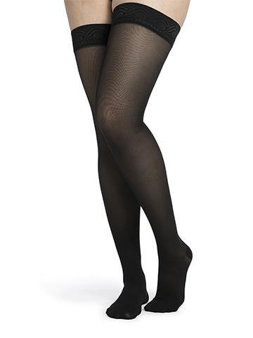 750 Midsheer FOR WOMEN Compression Stockings Thigh High with Grip Top by Sigvaris 20-30mmHg Closed Toe - Footit Medical, CPAP, Stairlift, Orthotic, Prosthetic, & Mobility Supply