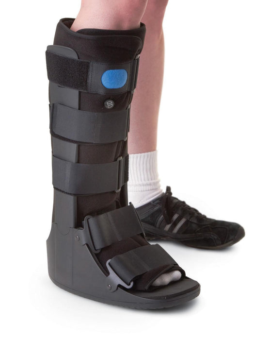 Walking Boot Long Pneumatic Ankle Boot - Footit Medical, CPAP, Stairlift, Orthotic, Prosthetic, & Mobility Supply