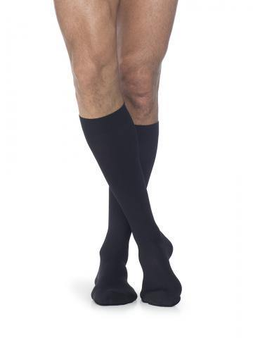 860 Select Comfort Compression Stockings 20-30mmHg & 30-40mmHg Men's Calf Knee High Closed Toe by Sigvaris - Footit Medical, CPAP, Stairlift, Orthotic, Prosthetic, & Mobility Supply