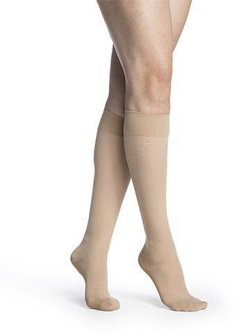 750 Midsheer FOR WOMEN Compression Stockings Calf Knee High by Sigvaris 20-30mmHg Closed Toe - Footit Medical, CPAP, Stairlift, Orthotic, Prosthetic, & Mobility Supply
