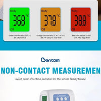 Infrared Thermometer Non-Contact Touches Temperature Checks