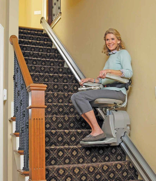 Bruno Elan 3000 Stairlift with Power Folding Rail - Footit Medical, CPAP, Stairlift, Orthotic, Prosthetic, & Mobility Supply