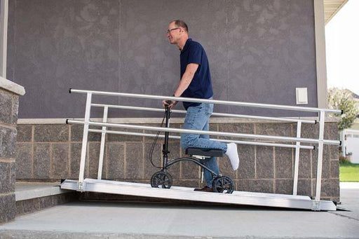 8 Feet Gateway Ramp Wheelchair Ramps - Footit Medical, CPAP, Stairlift, Orthotic, Prosthetic, & Mobility Supply